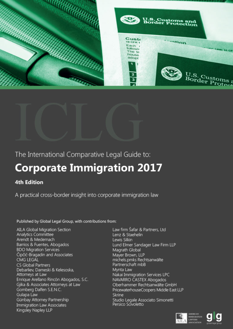 Corporate Immigration 2017
